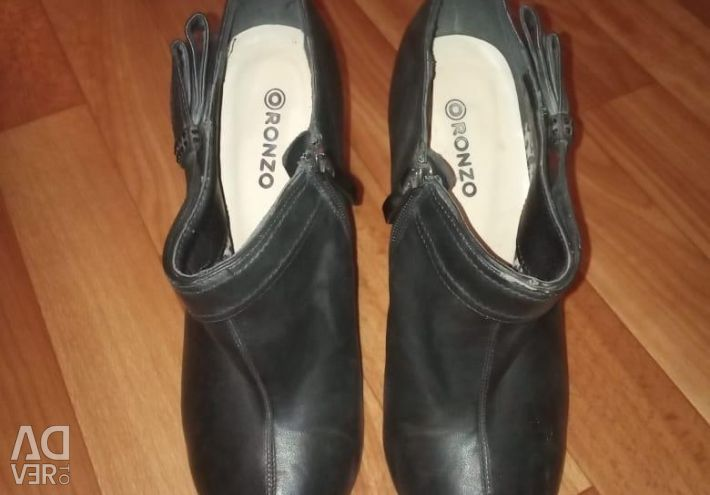 Ankle boots, shoes 39 size