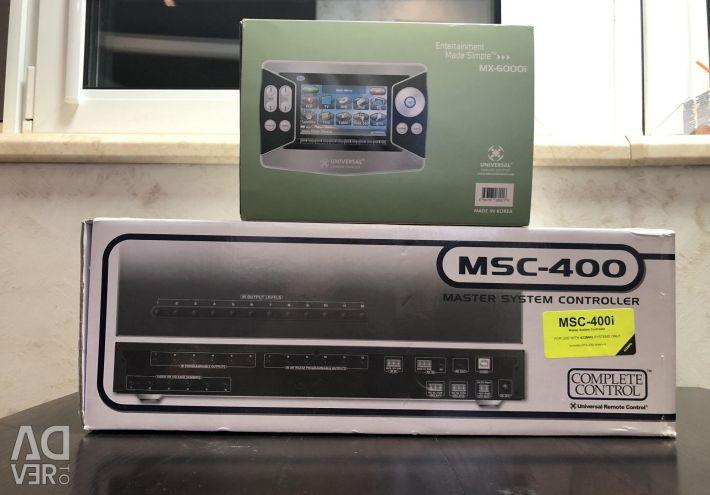 MX-6000i controler de la distanță + msc-400i controler nou set