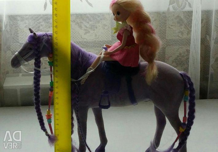 Peri atı ile mor at
