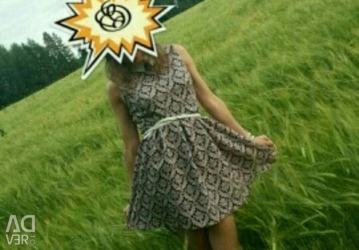 Καλοκαιρινή μπλούζα φόρεμα