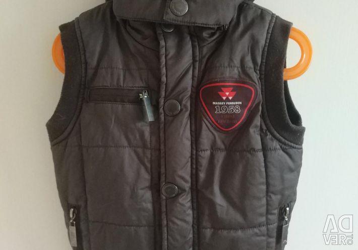 Vest on the boy