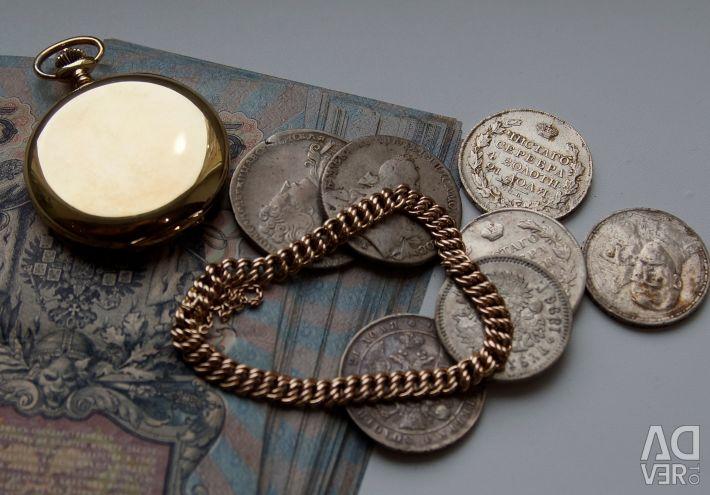 Brățară de aur antic 56 (585), sec