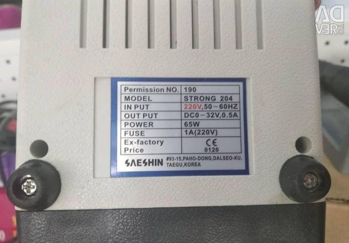 Μηχανή για μανικιούρ και πεντικιούρ Ισχυρή 204