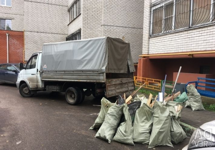 Gazelle, movers (garbage removal, demolition of buildings)