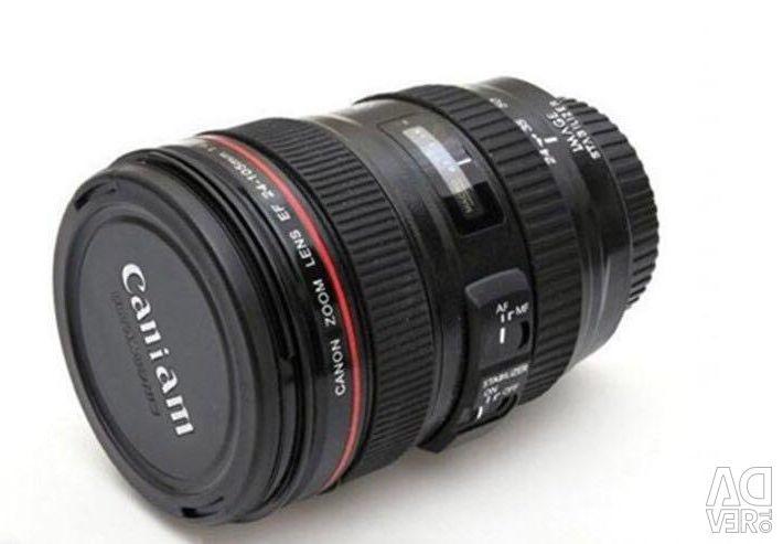 Lentila cana Canon 24-105 suvenir