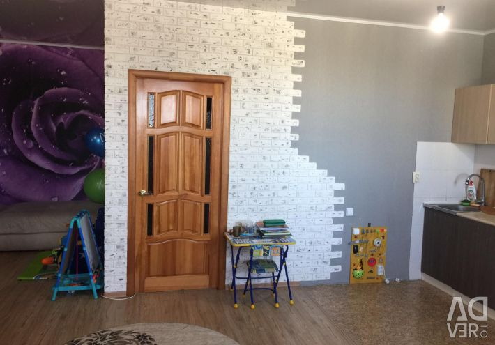 Apartment, studio, 41 m²