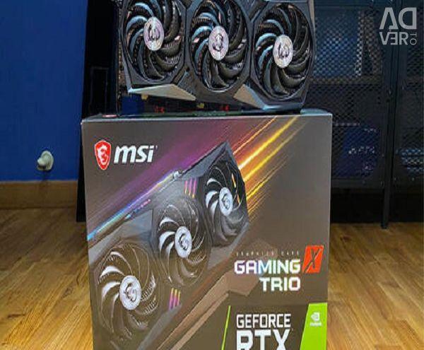 MSI GeForce RTX 3090 GAMING X TRIO 24G Graphics C