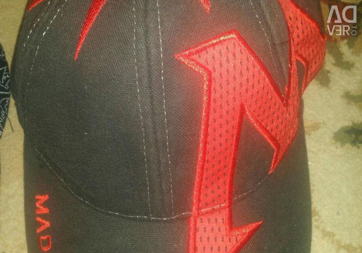 Two branded baseball caps