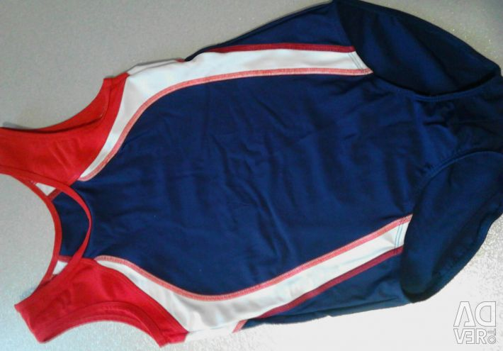 Купальник для спортивной гимнастики 128-146