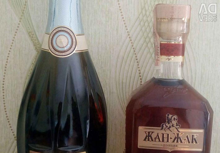 Decorated Champagne, Cognac