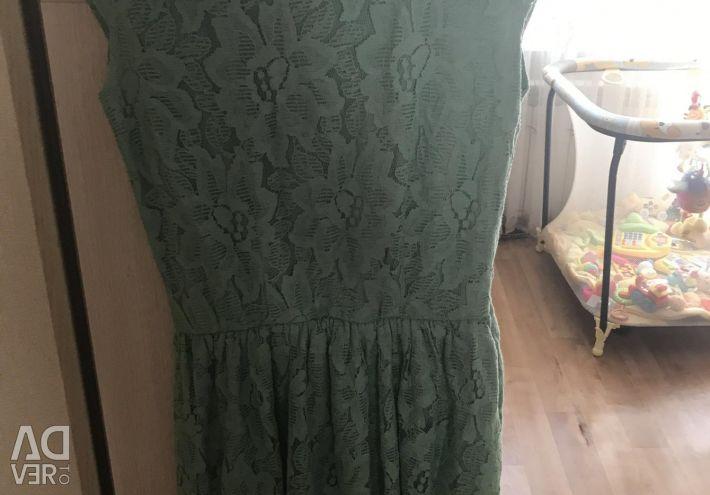 Turquoise Pull Bear Dress