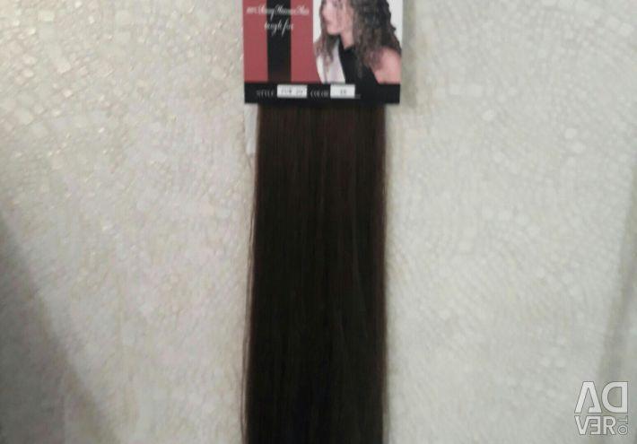 Волосы ленты 60-65 см