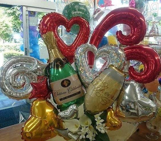 Balloon Birthday Compositions