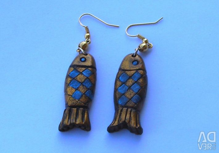 Earrings Fish