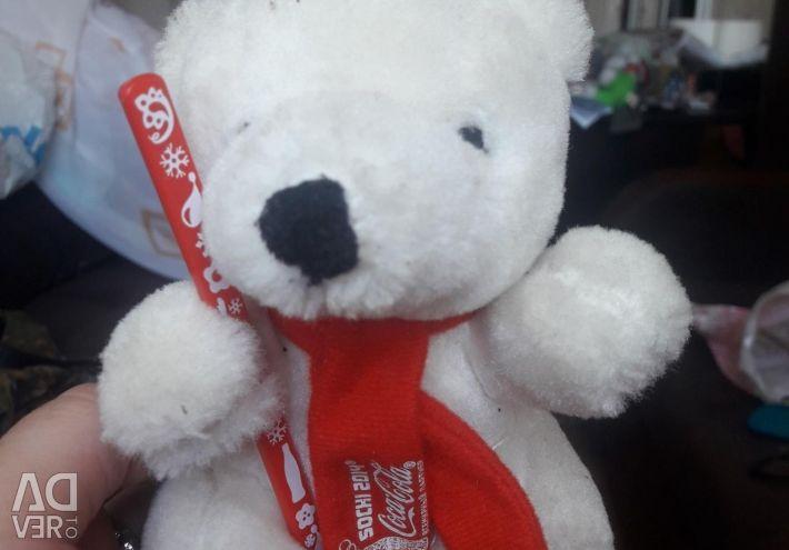 Teddy Bear Coca-Cola Collectible