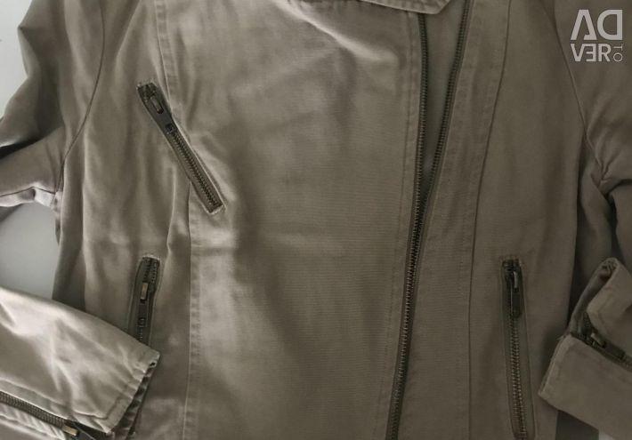 Джинсовая куртка Mango, косуха, джинцовка