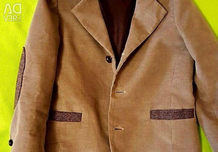 Italy jacket corduroy.