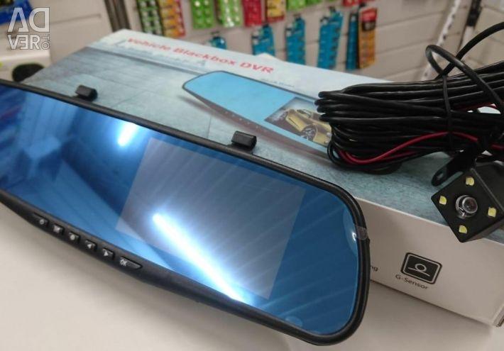 DVR mirror Blackbox DVR + zad.kamera