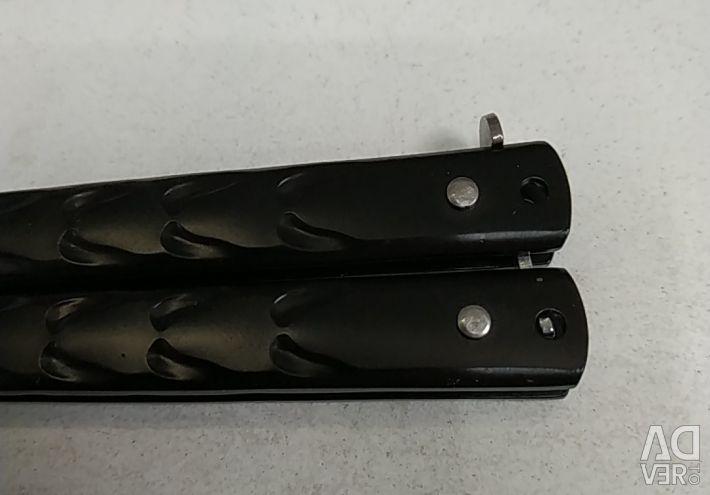 Folding knife black