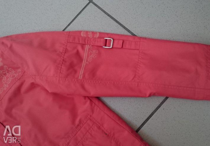 Куртка на флисе 140 - 146 см.