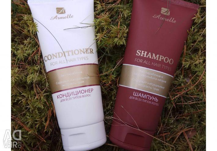 Șampon + balsam + ulei