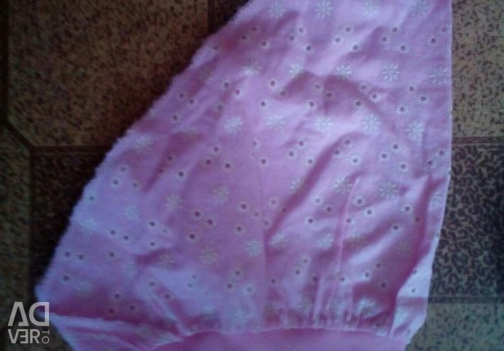 Handkerchiefs on girl