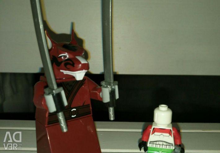 Big Lego Teacher Splinter. New.