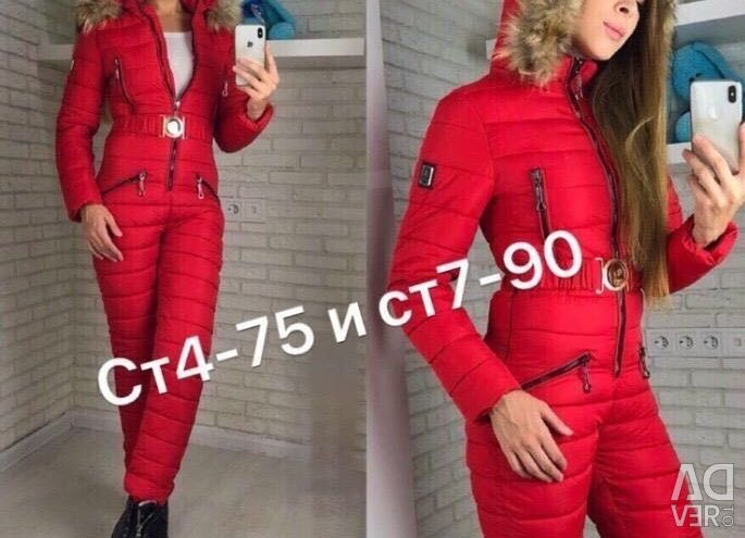 Overalls winter new available