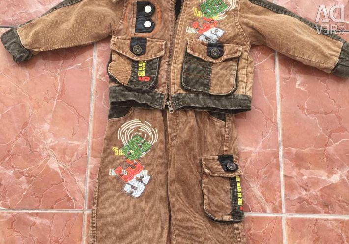 Costum de costum pentru baieti