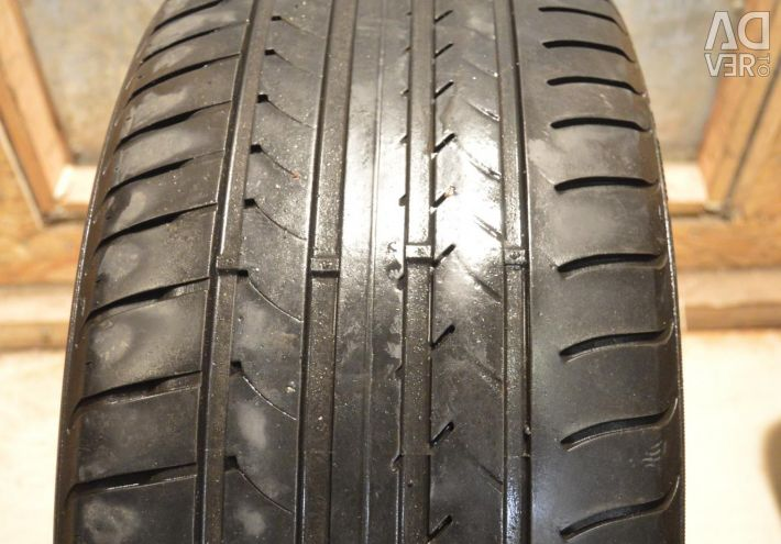 A pair of summer tires 255-45-R18 Goodyear