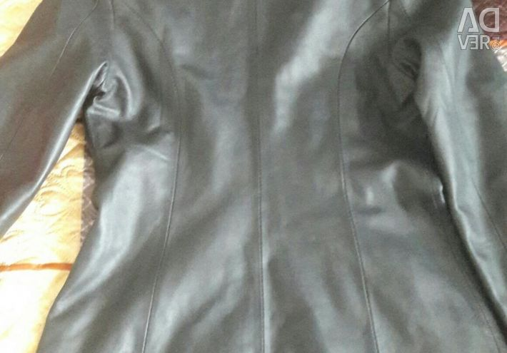 Γνήσιο δερμάτινο σακάκι για γυναίκες