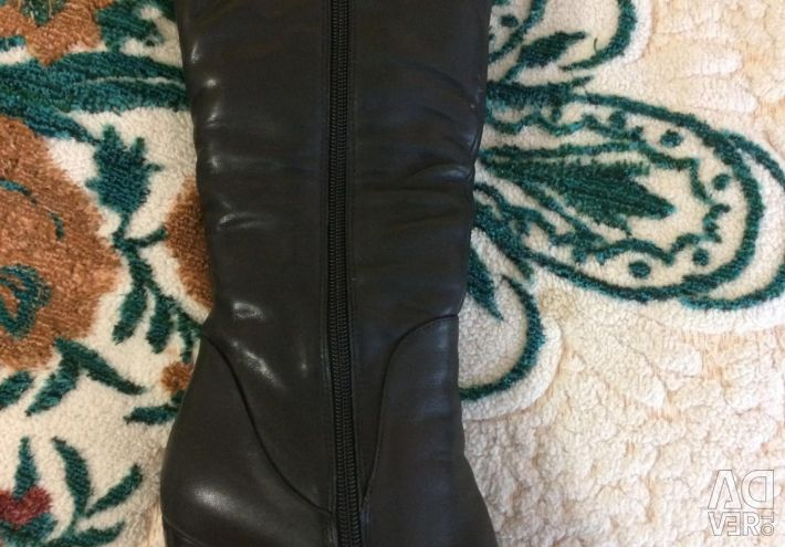 The boots are new !!!