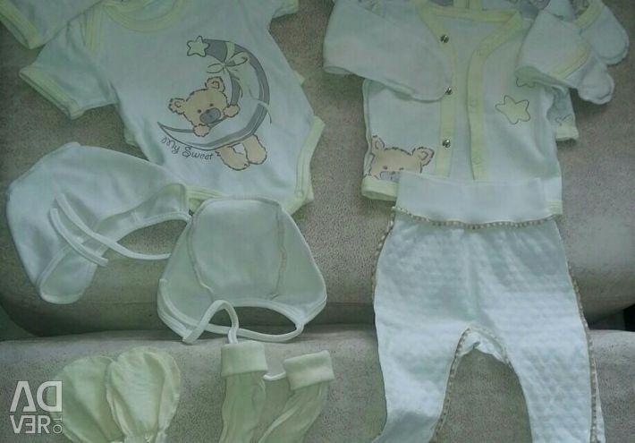 Lucruri noi pentru nou-născut 56-62
