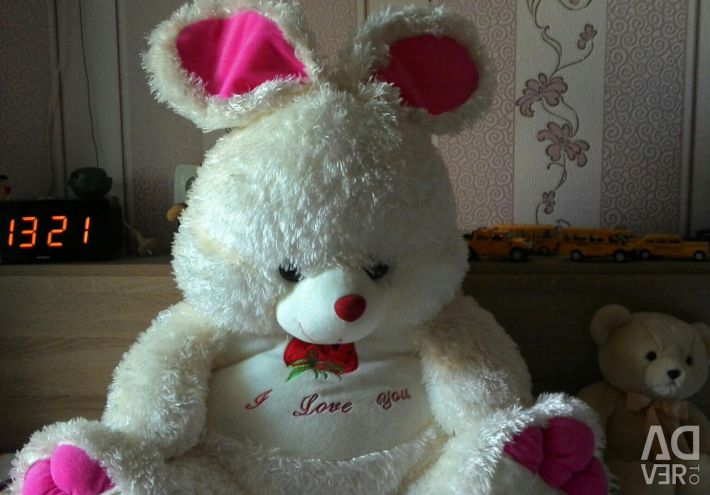 Yumuşak oyuncak tavşan
