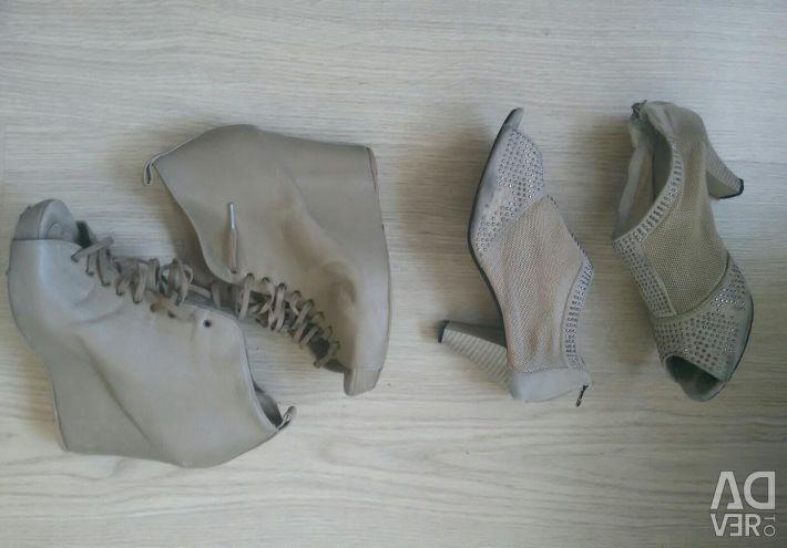Jin li Da shoes, ankle boots stradivarius spain