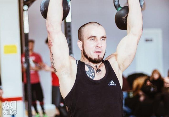 Fitness trainer Saint Petersburg