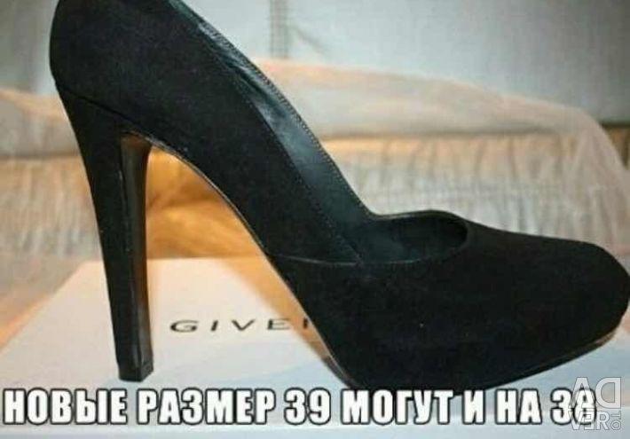 Παπούτσια νέα Givenchy Ιταλία σουέντ μαύρο στο οροπέδιο