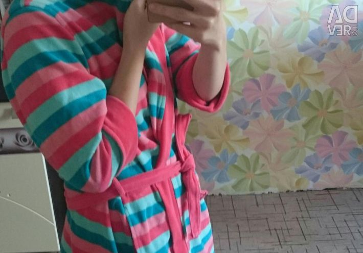 Dressing gown velor Turkish