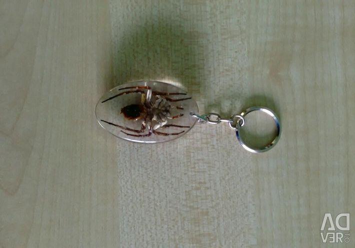 Keychain Spider