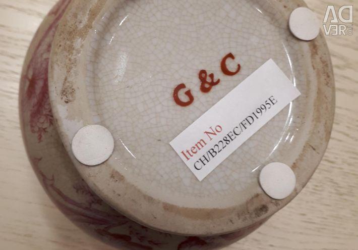 Porcelain milk jug, G&C company (Denmark)
