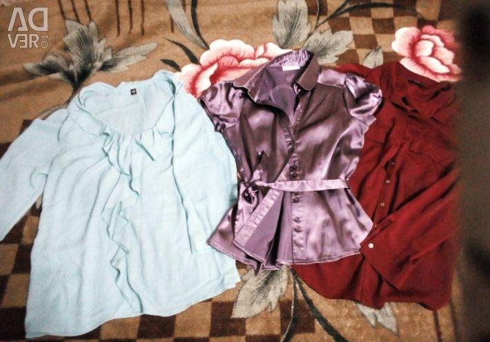 Bluzlar ve gömlekler.