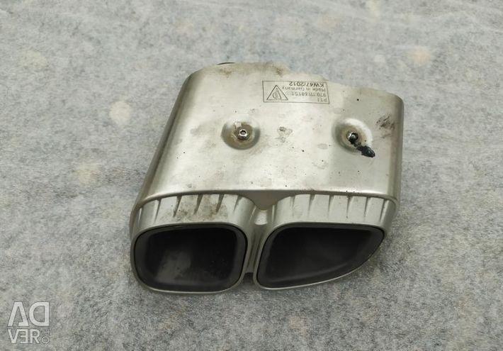 Σιγαστήρας Porsche Panamera 1