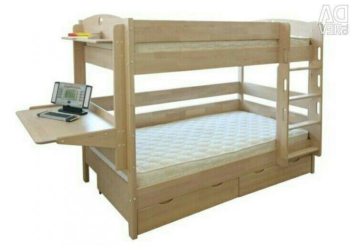 Yatakta iki katlı çocuk (trafo)