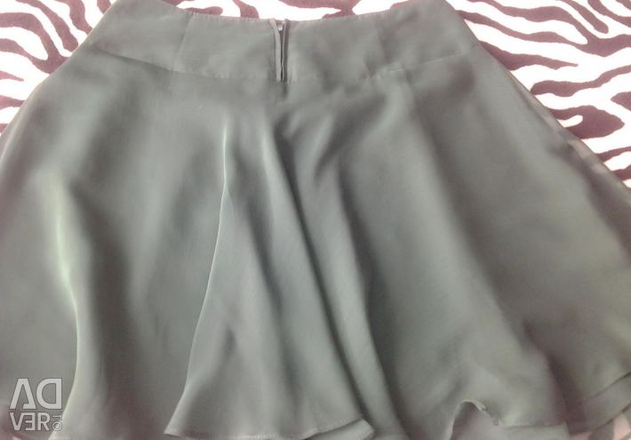 Chiffon skirt