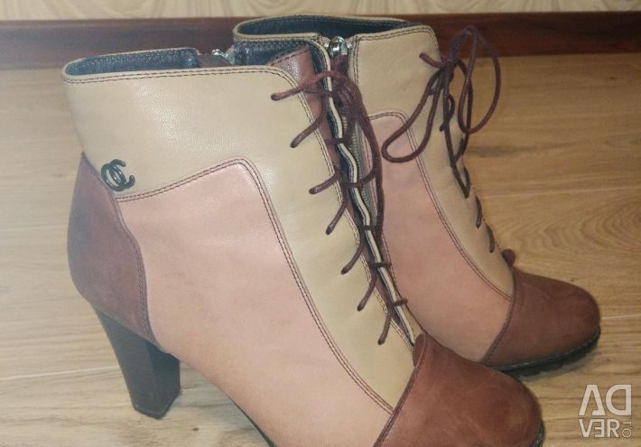 Half boots for leather.