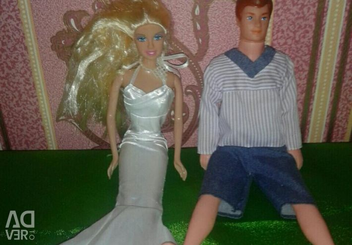 Barbie doll and ken for everything
