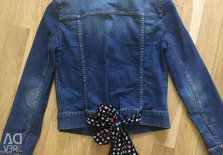 Джинсовий куртка Moschino