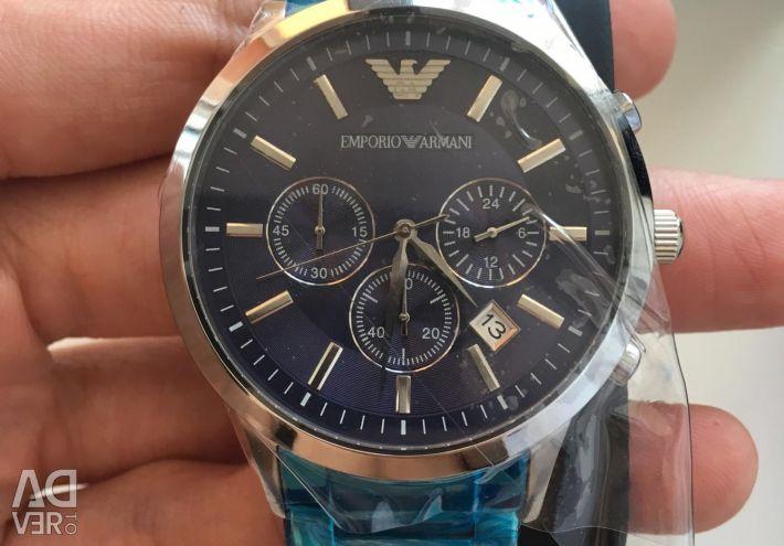 New Armani watches