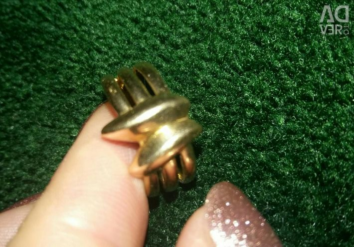 Gold ring 585 sample 5 grams