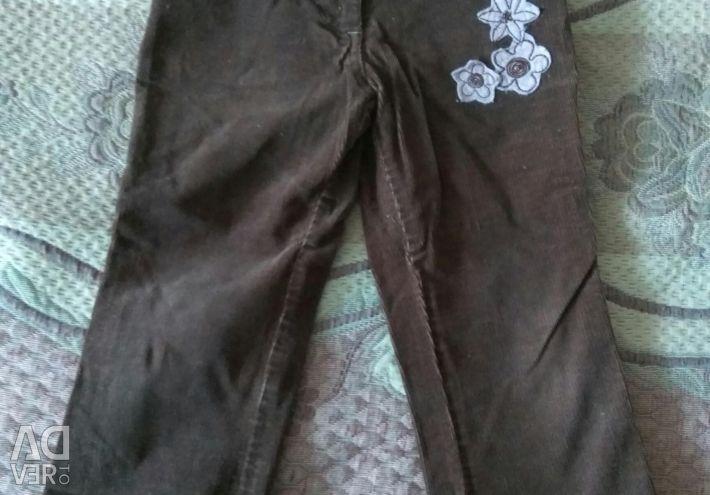 Corduroy Swedish trousers, jeans